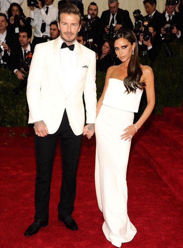 David y Victoria Beckham #galamet