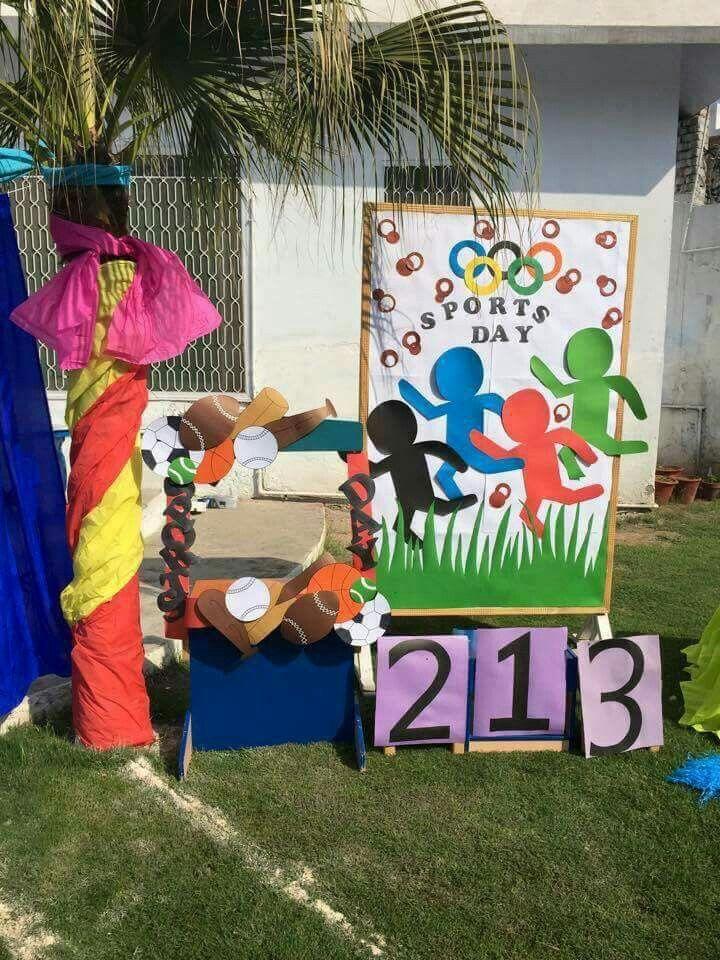 Pin By Nikki Mahajan On Educational Sports Day Decoration