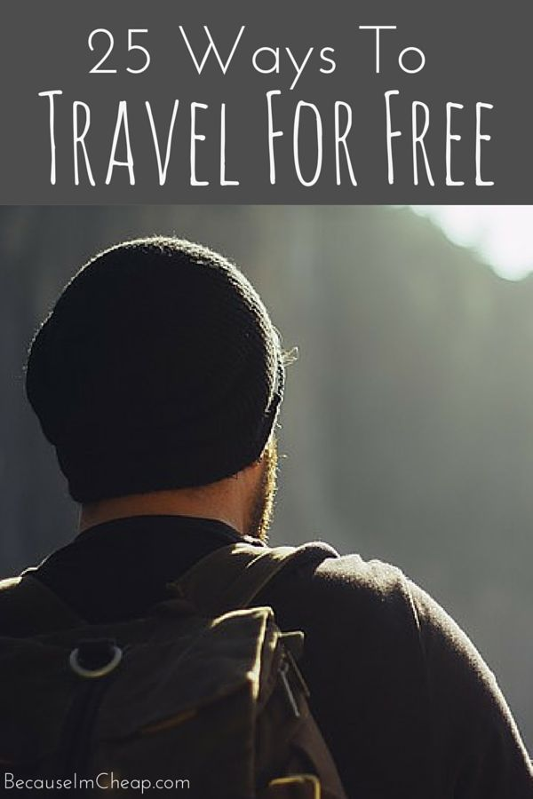 25 Ways To Travel For Free ~ Did you know you could see the world for free? With a little bit of flexibility and a lot of heart, you totally can! Here are 25 different opportunities to get out there and see the world for FREE!