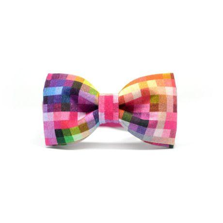 ピンクピクセル|本当の自分をみつけるおしゃれメンズの蝶ネクタイ by Marthu