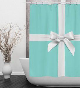 Tiffany Blue Shower Curtain