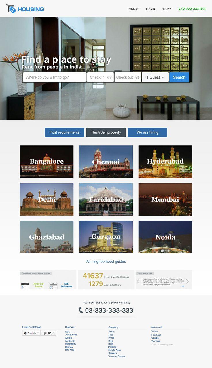 Hotel HomePage Design