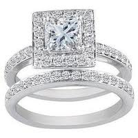 million dollar wedding rings princess cut