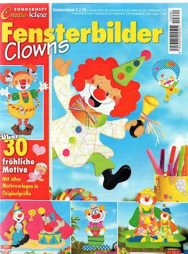 Sonderheft Fensterbilder Clowns - jana rakovska - Picasa Webalbumok