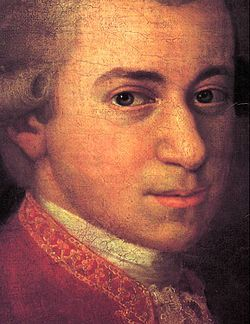 Wolfgang Amadeus Mozart, baptismal name Johannes Chrysostomus Wolfgangus Theophilus Mozart (27 January 1756 – 5 December 1791), was a prolific and influential composer of the Classical era. He composed over 600 works, many acknowledged as pinnacles of symphonic, concertante, chamber, operatic, and choral music. He is among the most enduringly popular of classical composers.