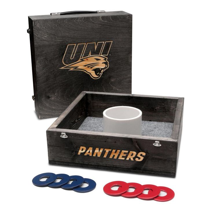 Washer Toss Game - University of Northern Iowa Panthers