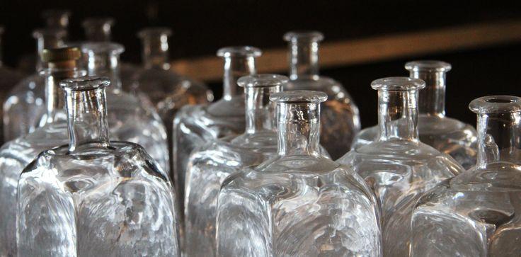 Handblåst Glas