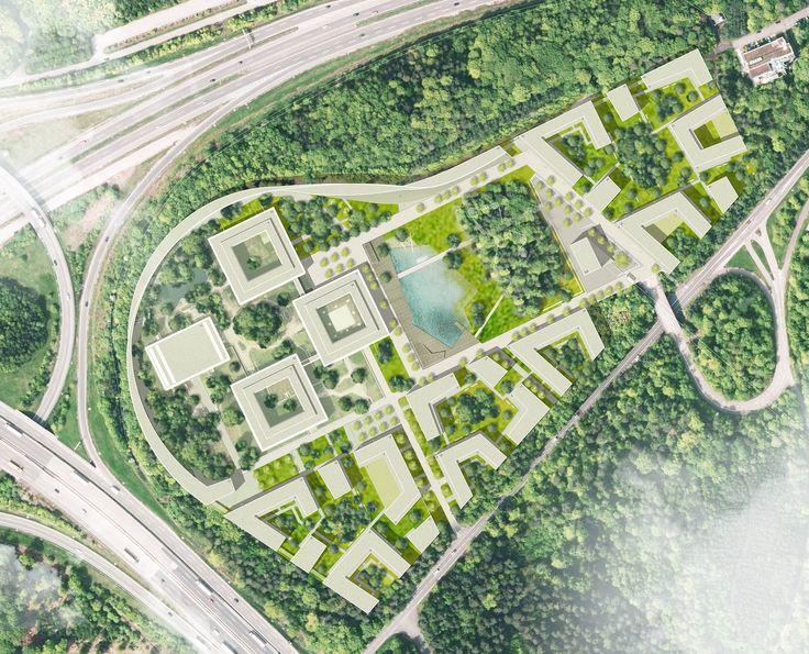 Gewinner Nach Überarbeitung: gcv lageplan steidle architekten, © sta