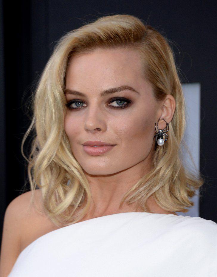 Pin for Later: Der Clavicut: Die schönsten mittellangen Haarschnitte der Stars Margot Robbie