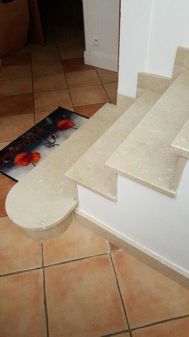 escalier marbre. Travaux de finition en 2 couche peinture // TEXAS Bâtiment - texasbatiment@orange.fr - Tél 01.41.81.02.90