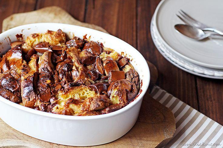 Bread pudding / Žemlovka de luxe | Na vidličku food blog