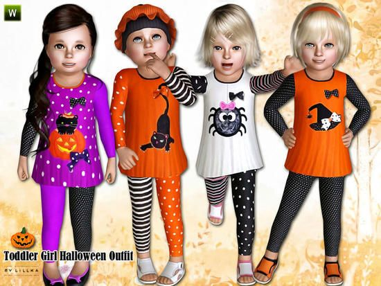 lillka's ~ Toddler Girl Halloween Outfit ~