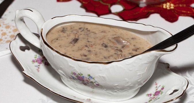 Соус грибной с маслинами к макаронам | passion.ru