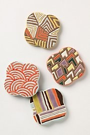coasters for living room table $20.00,   love these, I'm sure I can make these myself:): Pattern, Metal, Living Room, Kitchen Dining, Home Kitchens, Picture Creating