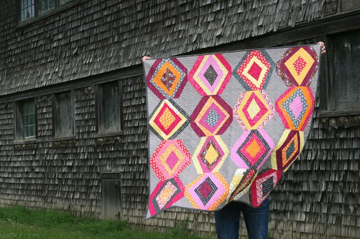 Diamonds on Madrona Road by @Ashley Film in the FridgeBeautiful Quilts, Fridge Blog, Wonky Diamonds, Roads Quilt, Gorgeous Quilt, Quilt Blocks, Madrona Roads, Fridge Madronaroad2, Diamonds Quilt