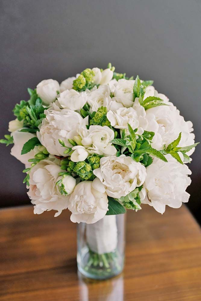 172 best wedding bouquets images on pinterest bridal flowers 36 all white wedding bouquets inspiration mightylinksfo