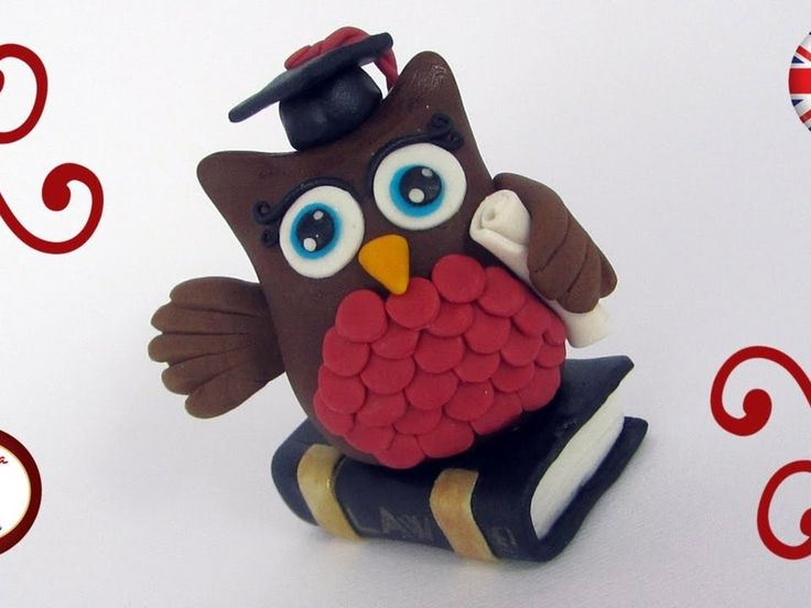 Learn to sculpt this cute graduation topper with Francesca. This little...