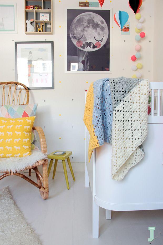 Una habitacion de bebé ... REQUETEPRECIOSA Y LLENA DE COLOR!
