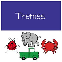 Unit Themes: holidays, seasons, space, dinosaurs, usa, fairy tales, ocean, pond, safari, rainforest, plants, weather, bugs, pets, transportation, families