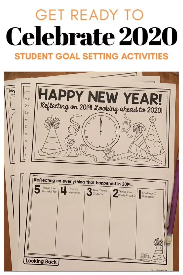 New Years Activities For 2020 Student Activities New Years