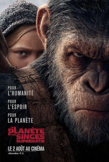 Critique de l'excellent La Planète des Singes : Suprématie de Matt Reeves en salles le 2 août 2017