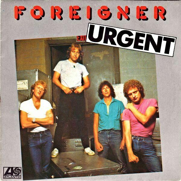 "#37. ""Urgent""  ***  Foreigner  (1981)"