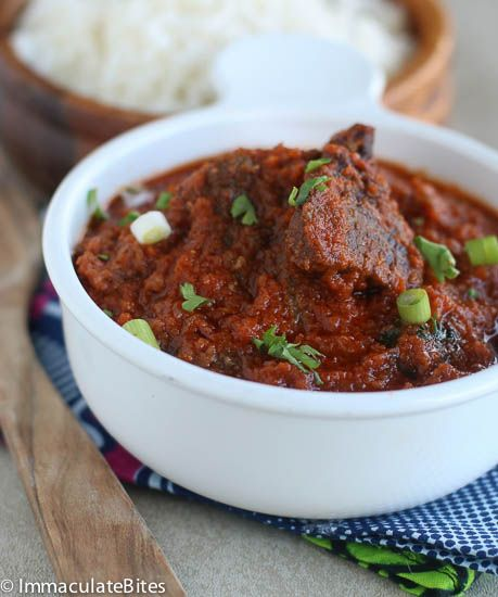 This is a popular and traditional West African Stew that is often prepared in most homes, in a number of different ways-in countries like Cameroon, Nigeria and Ghana – by varying the quantity of tomatoes, onions and spices. Quite a lot of oil is used to cook the stew – often use to fry the ...