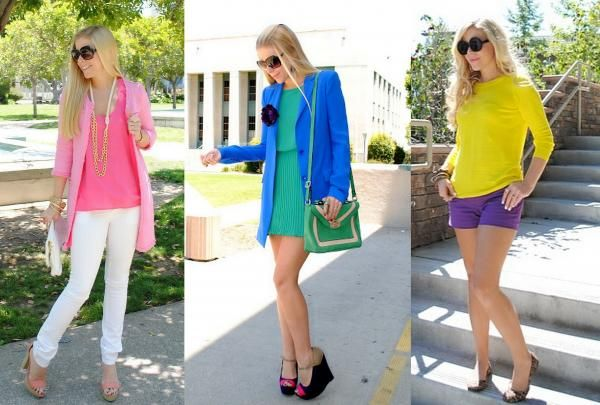 how to mix & match color like an expert: Fashion Outfit, Matching Color, Color Fashion, Bright Color, Summer Color, Mixed Matching, Color Codes, Lauren Conrad, Fash Boulevard