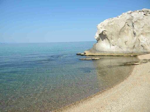 Our beach on the Agean