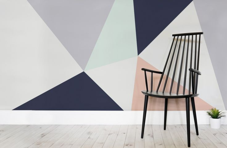 Simplistic lines and bold colours. This design will create a gorgeous focal point in any room of the home.