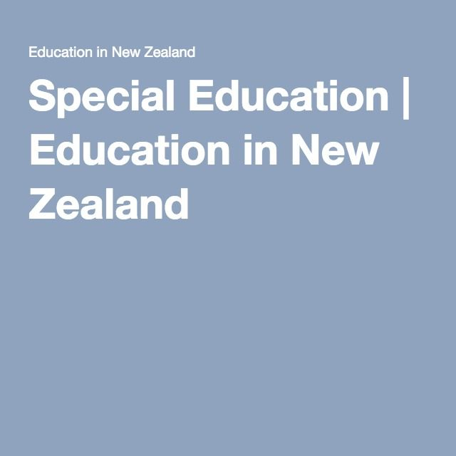 This site links educators, families/whanau to the services & supports available for individual students and schools and it clearly identifies the guidelines around funding applications and the support these services provide.  It looks at the ECE, Primary, and Secondary Sector.   As RTLB's we need to have clarity around the guidelines in Special Education so that we are informing our schools/parents correctly.