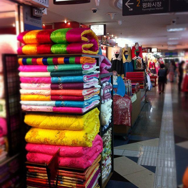 Underground shopping arcades near Dongdaemun, Seoul