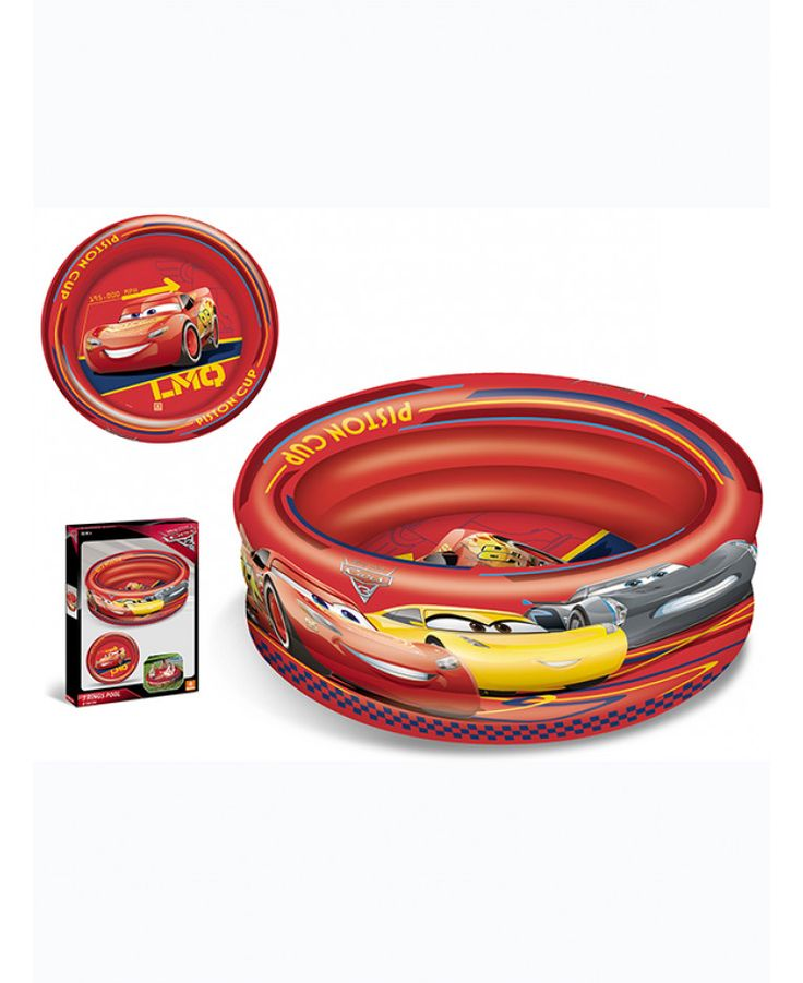 This fantastic Disney Cars Inflatable Three Ring Pool doubles as both a paddling and ball pool for hours of fun! Free UK delivery available