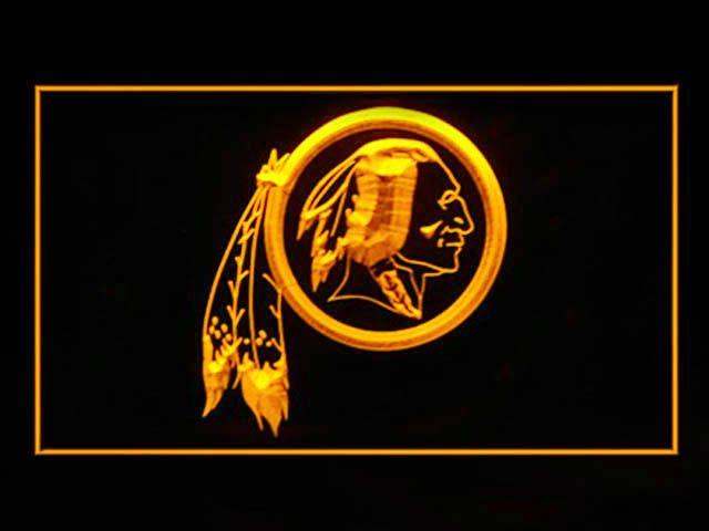 Washington Redskins Shop Neon Light Sign