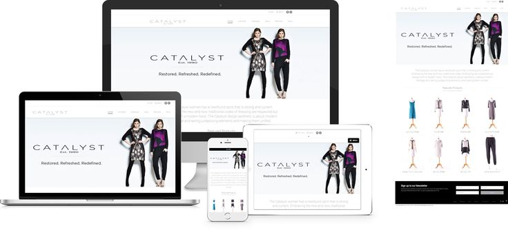 Forge creates Catalyst NZ by High Society Fashion Website, yet another stunning example of contemporary, functionally powerful Open Source website