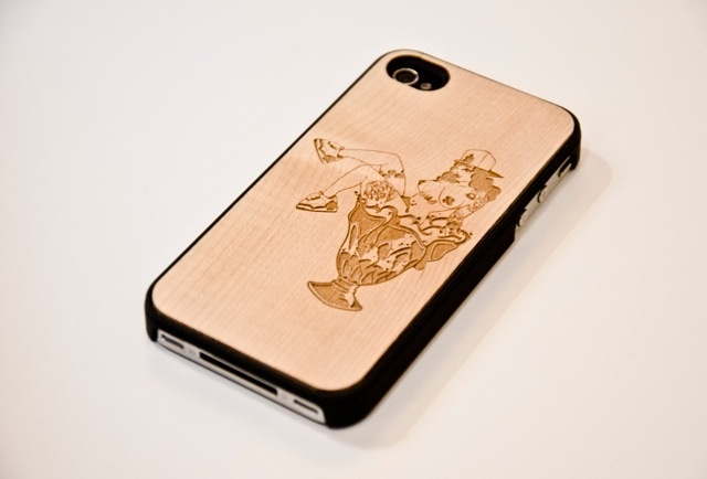 Dat Tag iPhone 4/4S Laser Engraved Eternity Bamboo Case