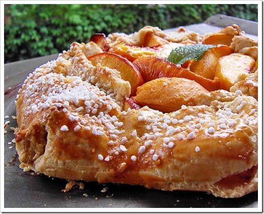Fresh Peach Crostata Fifteen Spatulas | Lobster House