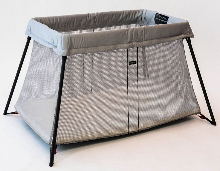 Baby Bjorn Travel Crib Light - winner of BabyGearLab's Editors' Choice Award