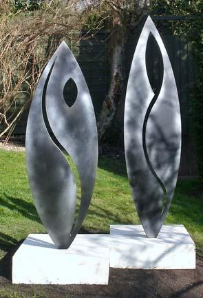 Strangers - beautiful sculptures by Robert Hulme