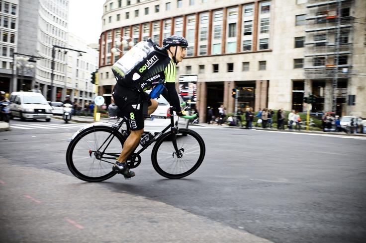 Urban Bike Messengers. Foto di Ubm.