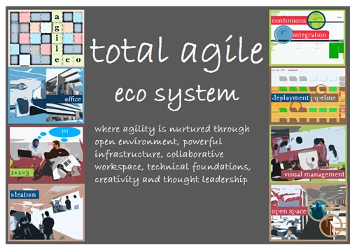Agile Delivery eco system Poster