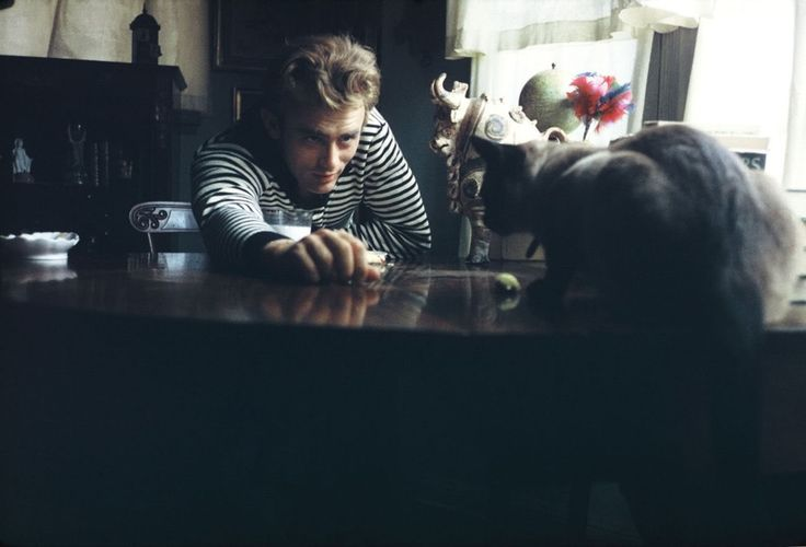 James Dean by the freshness of his acting work.