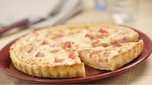 Receta de Quiche de queso y bacon