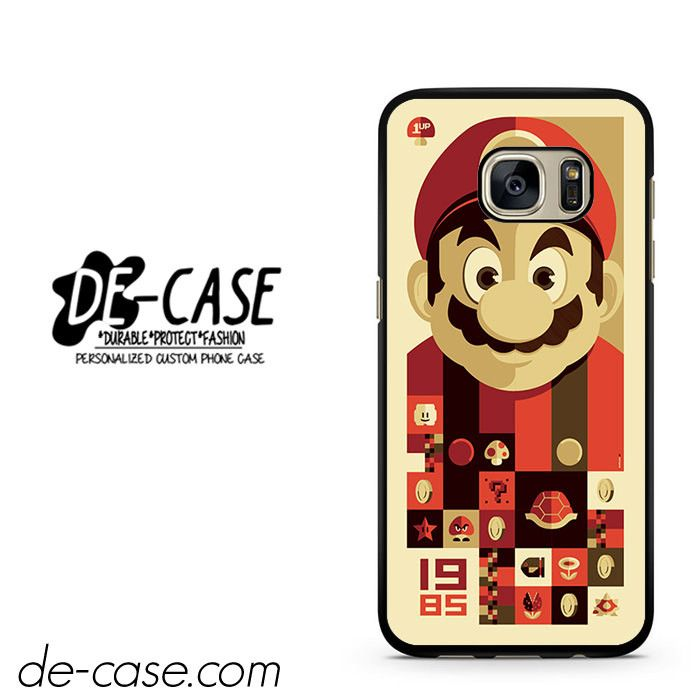 Mario Bross Old Game DEAL-6889 Samsung Phonecase Cover For Samsung Galaxy S7 / S7 Edge