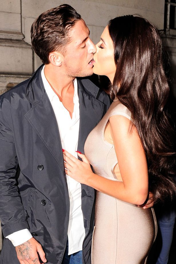Vicky Pattison and Stephen Bear haven't been able to keep their hands off each other