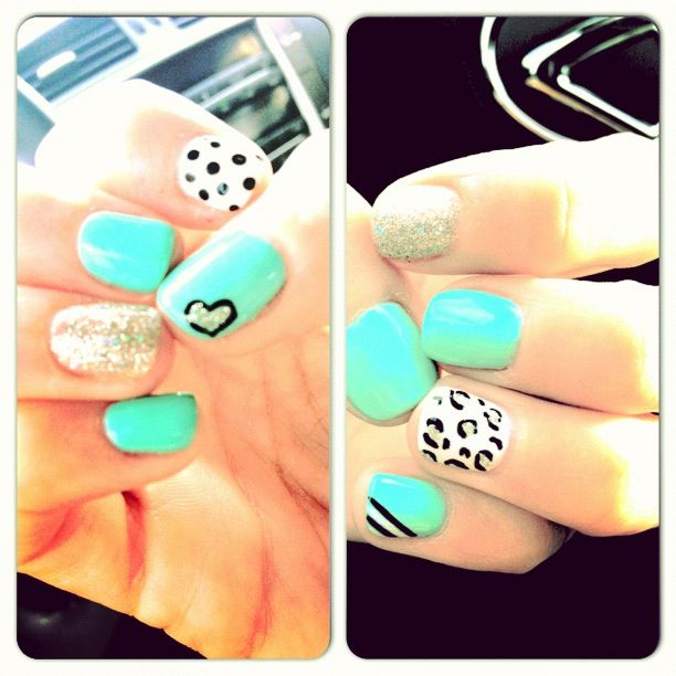 Gel Nail Designs Ideas simple gel nail designs for short nails httpwwwmycutenails Gel Nails Art Trendy Designs Cool