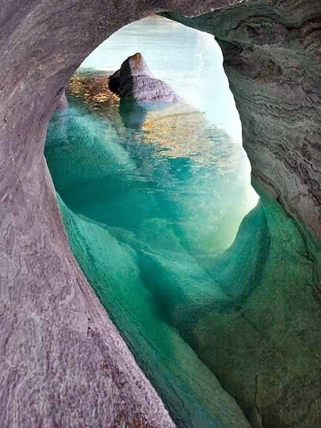Marvelous Caves that you should Visit !!! - Marble Caverns of Lago Carrera, Chilean Patagonia