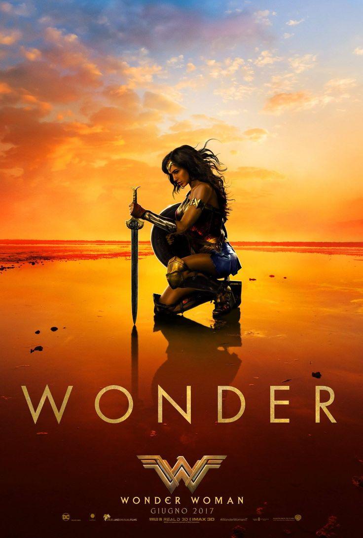 Wonder Woman Dc Film Teaser Poster Italiano