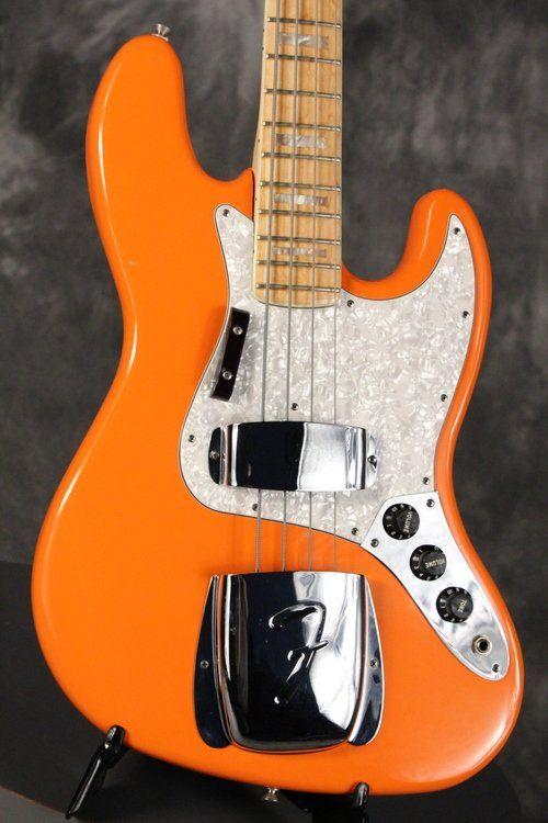 1980 Fender Jazz Bass rare CAPRI ORANGE