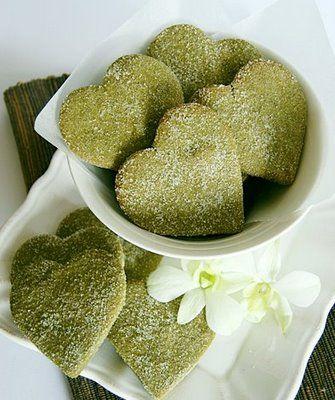i love matcha green tea, cookies would probably taste good too!